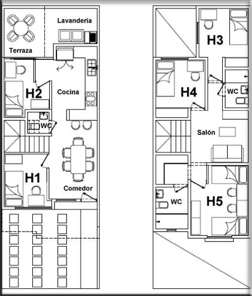 Muebles de ba o en planta arquitectonica for Plantas arquitectonicas de casas